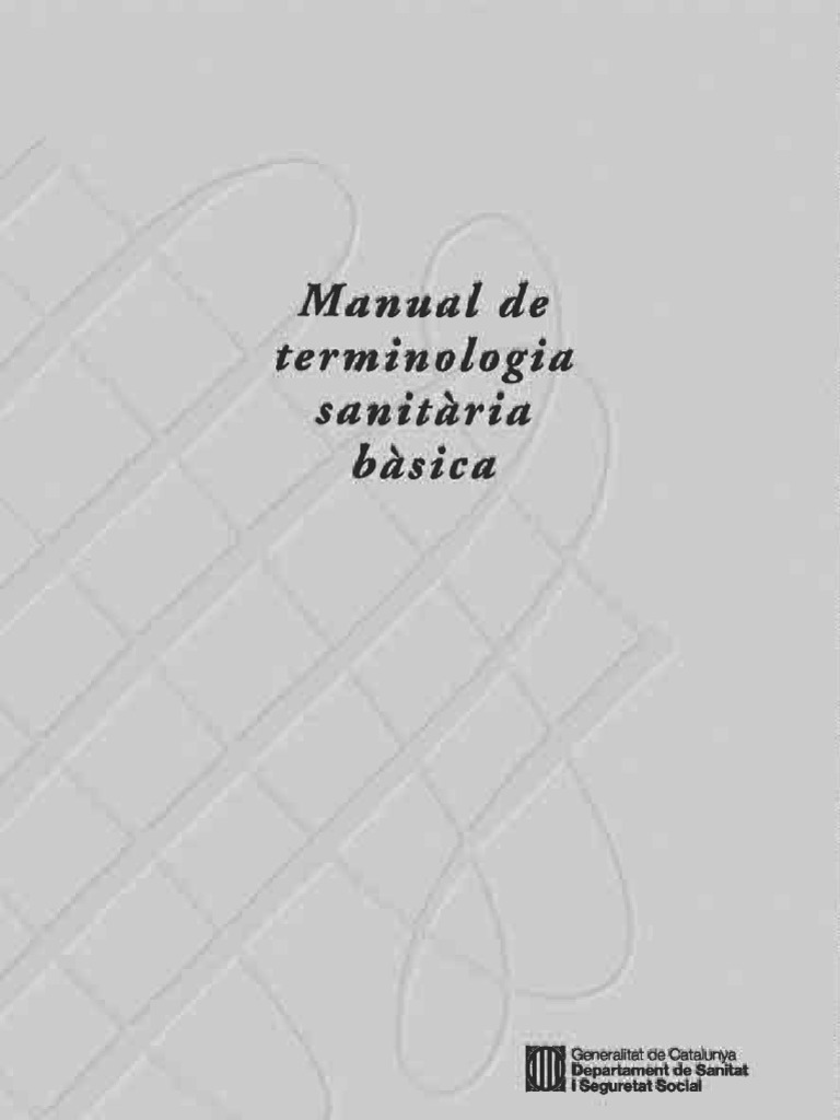 Manual deTerminologia Sanitària Bàsica