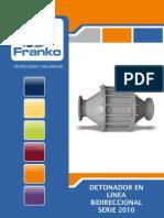 Detonador en Linea marca Franko
