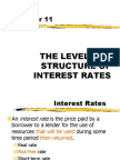 THE LEVEL AND STRUCTURE OF INTEREST RATES