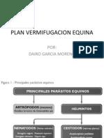 Plan Vermifugacion Equina