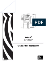 Zebra110Xi4