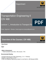 1_Introduction to Transport Planning