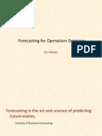 8721 Forecasting 2013