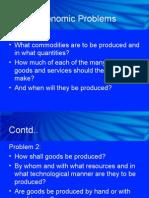 Three Economic Problems, Society's Capability and PPF