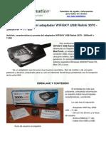 Analisis Wifisky 3000mw+11dbi