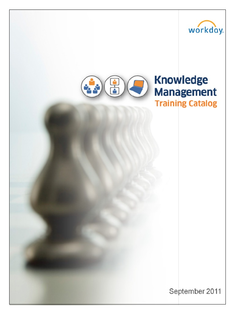 Workday Knowledge Management Training Catalog(1)   Business Process