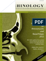 Rhinology Journal