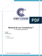 Manual de Uso Touchclone v.1.5