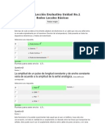 Act 4.Leccion Evaluativa Unidad 1 Redes Locales Basicas