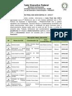 100_RELAÇÃO FINAL DAS ACES APROVADAS - 2012-1º