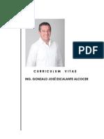 CV Gonzalo Escalante