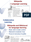 Wikipedia for Language Learning