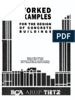 Good Worked Examples for the Design of Concrete Buildings
