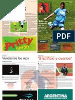 Proyecto Mujeres Con Pelota Revista2