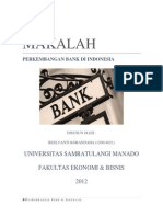 Makalah Perkembangan Bank Di Indonesia