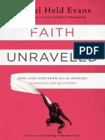 Faith Unraveled Sample