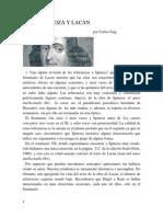 Sobre Spinoza y Lacan