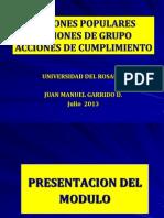 Acciones Populares Jul 2013.Alumnos