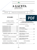 Constitucion_gaceta 176-010 Jueves 16 de Septiembre 2010 Editable