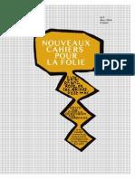 Cahiers de La Folie5
