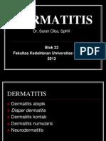 Kuliah Dermatitis Blok 22- SD