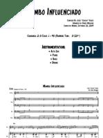 Mambo Influenciado - Score