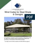 429 Wind Codes for Steel Sheds