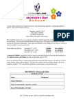 Mother's Bazaar 2014 Contract