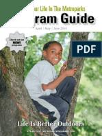Metroparks Program Guide - Spring 2014