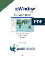 Developer's Corner DotSpatial