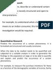 Qualitative Research BRM