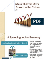 Two Sectors That will Drive India's Growth