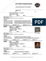 public arrest report for  3142014