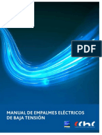 Manual de Empalmes Electricos de Baja Tension CChC