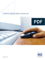 On Line Application Manual