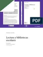 Lectura y Bibliotecas Escolares - Iner Miret OEI LIBRO 2011