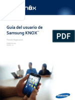 Samsung KNOX User Guide (Enterprise) ES 0