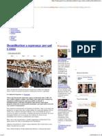 Desmilitarizar a segurança_ por quê e como