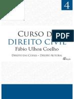 Curso de Direito Civil - Direito Das Coi - Fabio Ulhoa Coelho