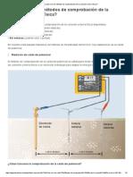 ¿Cuáles son los métodos de comprobación de la conexión a tierra física_