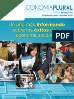 Un año más informando sobre los éxitos de la economía nacional