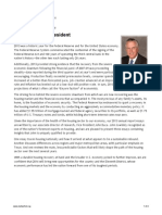 Dallas Fed 2013 Annual Report Letter by President Richard Fisher