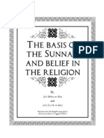 The Basis of the Sunnah Study Guide
