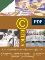 Los Movimientos Sociales en El Siglo XXI Rev Critica