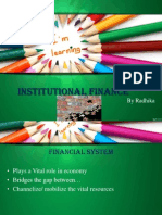 Institutional Finanace