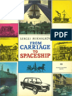 Sergei Mikhalov From Carriage to Spaceship 1976