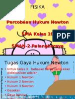 FISIKA Newton kelas 10 sma