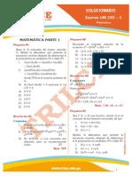 Solucionario UNI 2013-II Matemática
