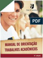 Manual Orientacao Trabalhos Academicos Ver2009