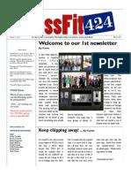 CrossFit 424 Newsletter